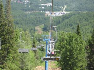 Кресельная дорога на гору Соболиная
