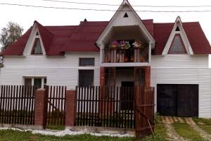 Белый дом у горы Соболиная