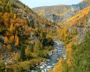 бархатная осень на Байкале