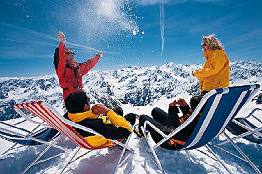 Горные лыжи грузия новый год