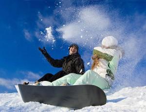 сноуборд на соболиной